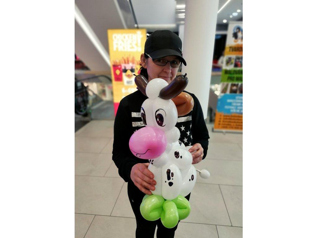 kráva kravička dárek pro děti