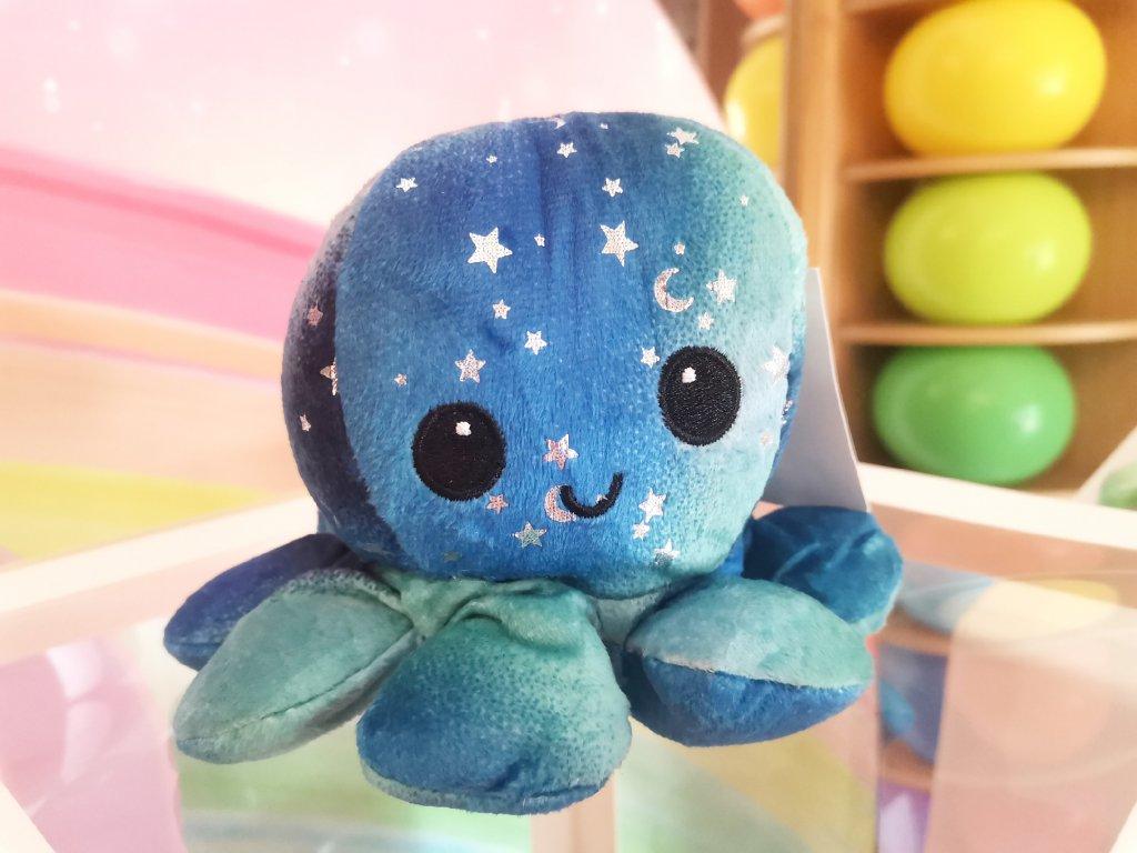 plyšová oboustranná chobotnice kawaiiplyšák (1)