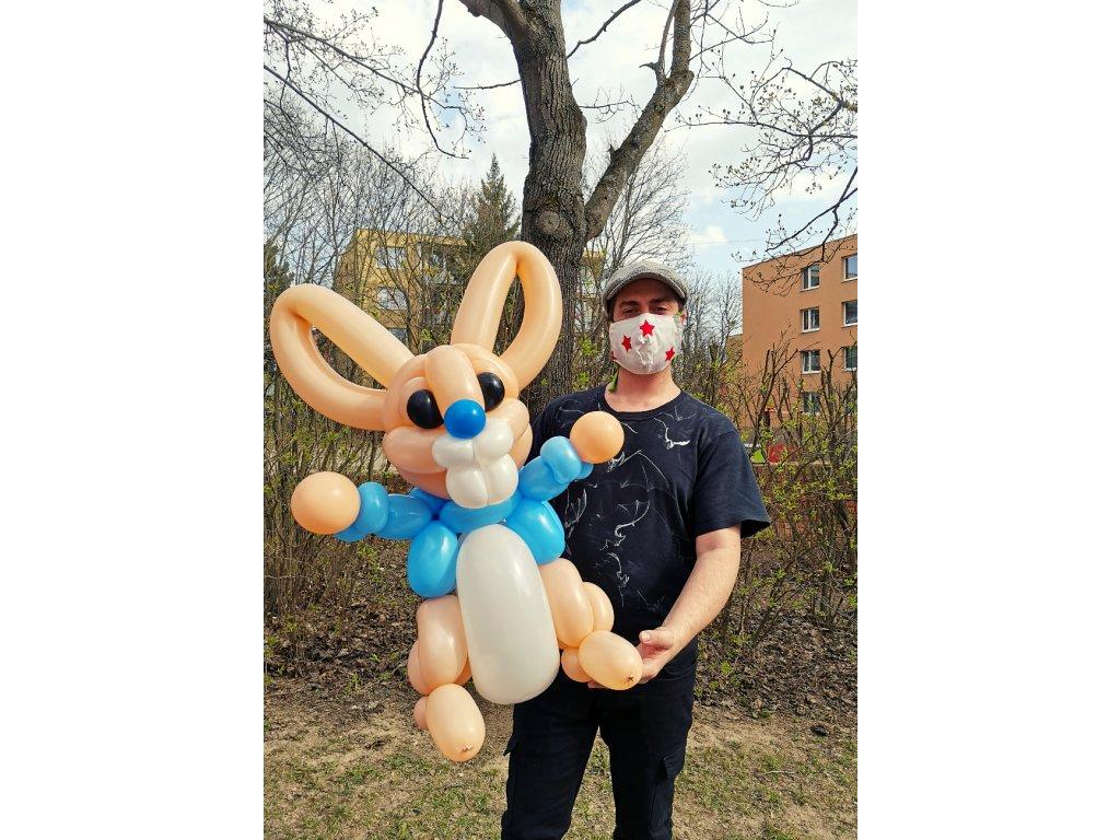 velikonoční zakíc králík balónky pro děti hračka