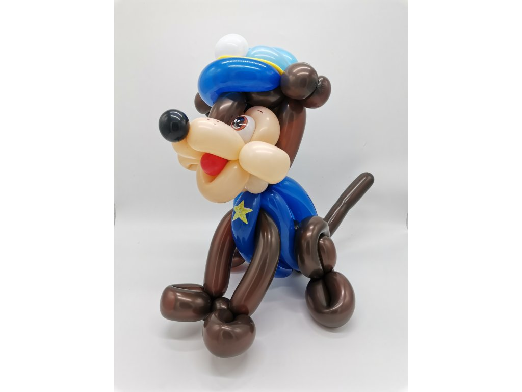 Tlapková patrola chase dárek pro děti hračka balonky (1)