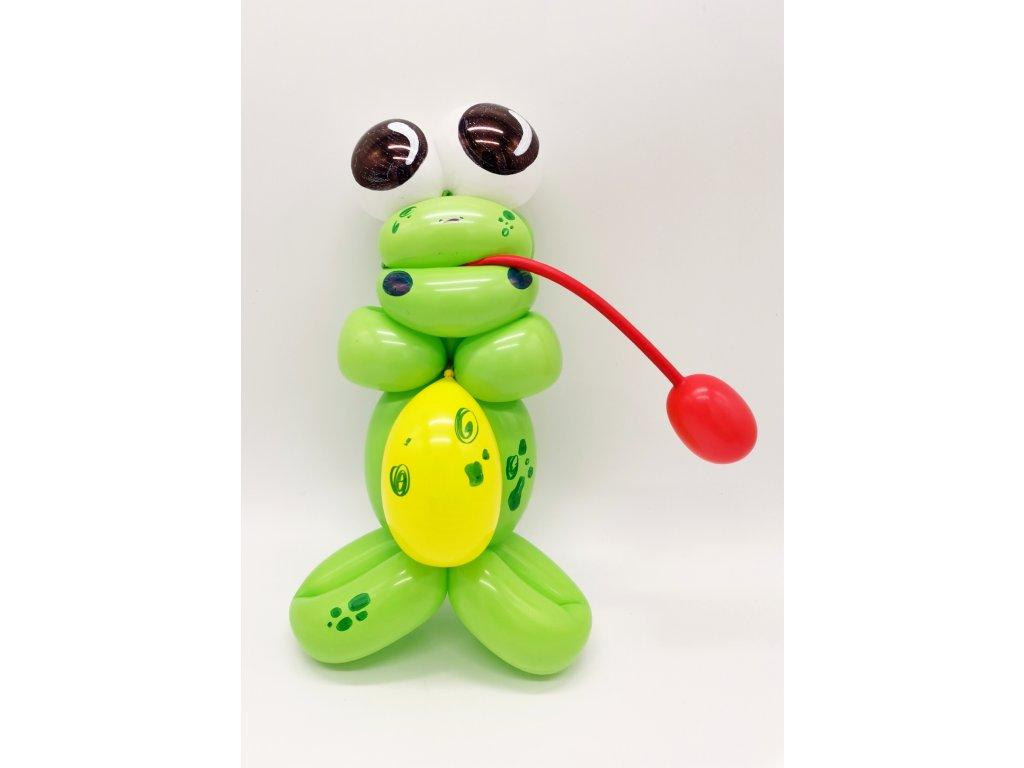balónky pro děti narozeninové pavouk dárek dáreček z balónků balónky žába žabička frog ropucha párty balonky (2)