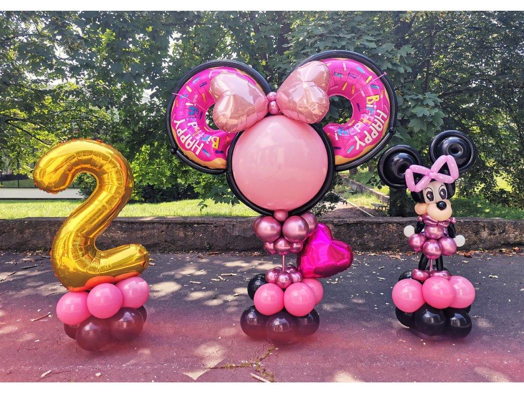 Myška Minnie Mouse Mickey narozeniny pro děti dárek hračka (1)