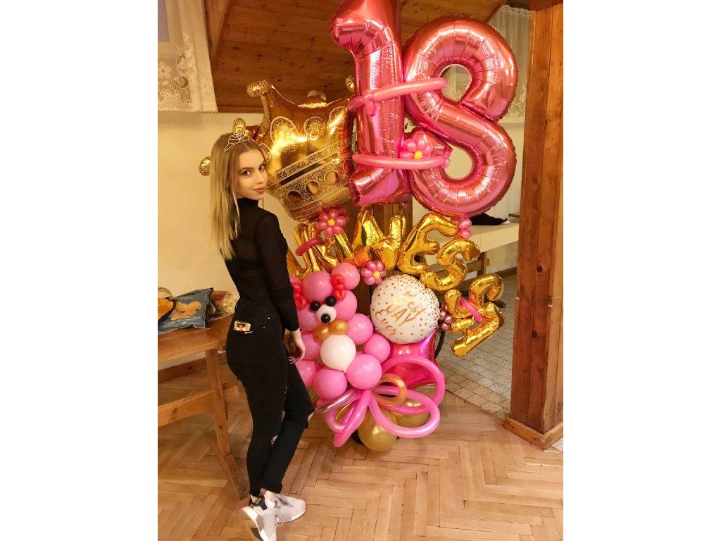 narozeninové balónky párty balónky dárky dárek