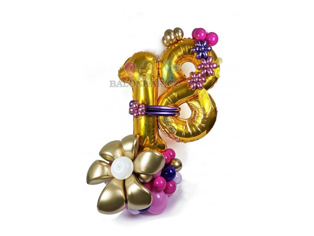 narozeninové číslo balónková čísla dárek balónky (1)
