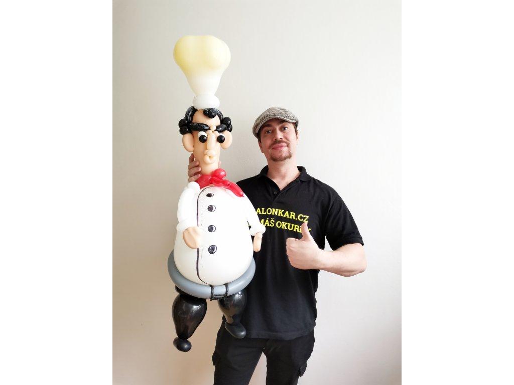 Balónkový kuchař