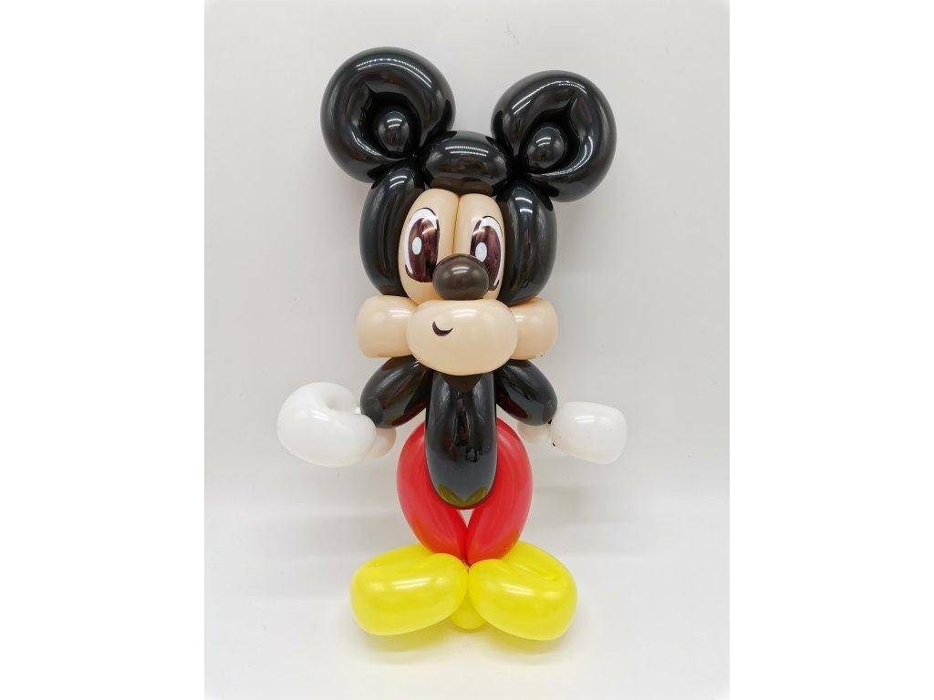 Mickey Mouse myška minnie dárek pro děti hračka z balónků balónky (1)