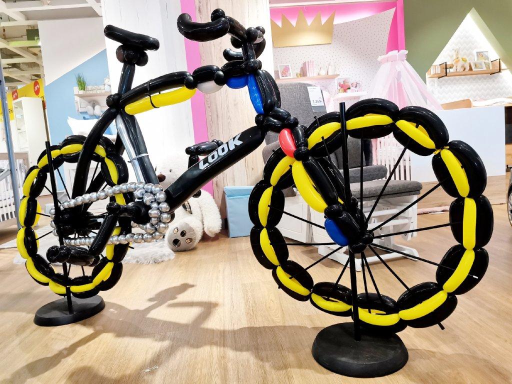 jízdní kola kolo dárek pro cyklistu cyklistika dárky z balónků balónky (1)