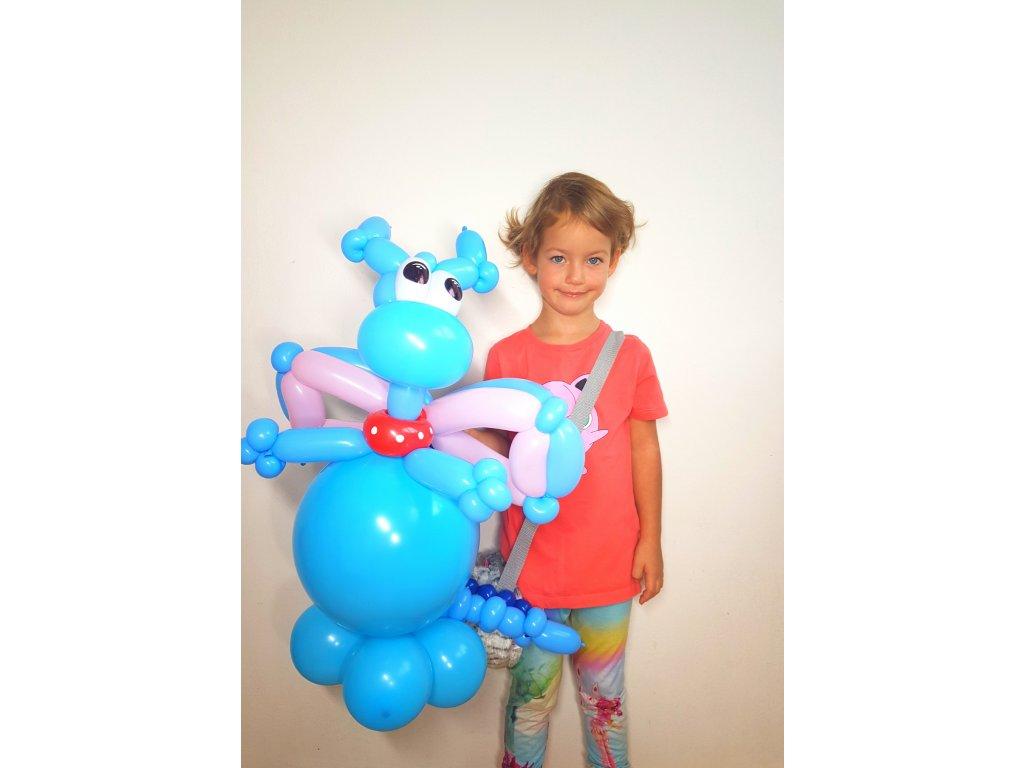 doktorka plyšáková z balónků balónky dárek pro děti dárky hračka stuffy