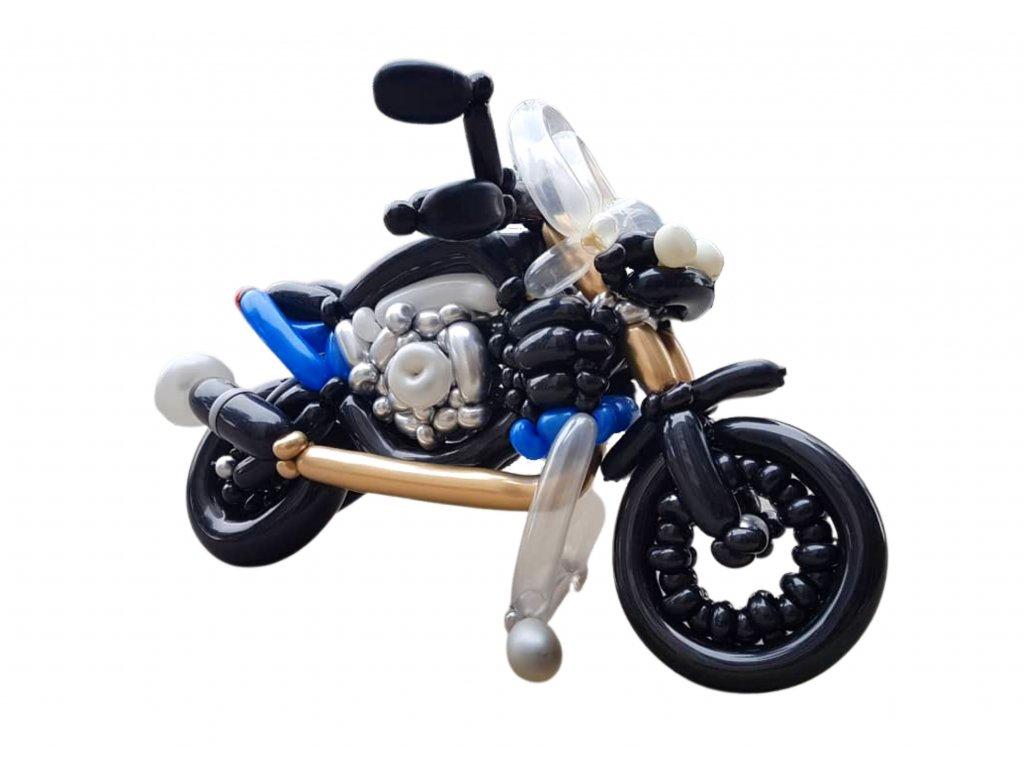 motorka motocykl z balónků dárek dárk pro motorkáře k narozeninám (1)