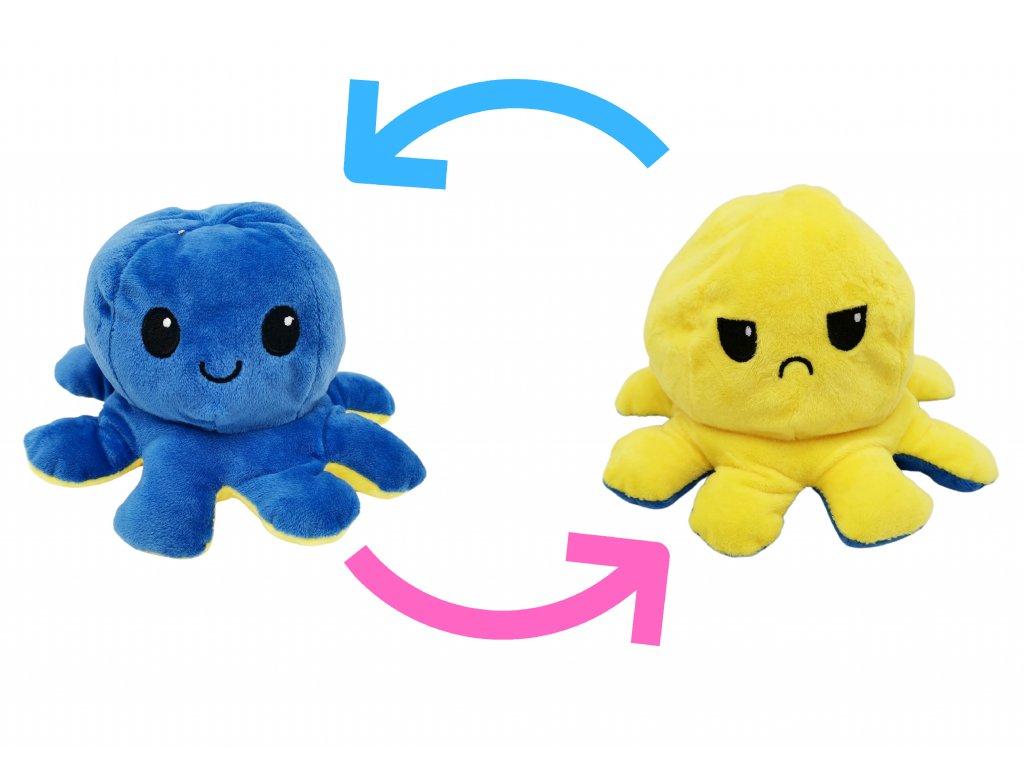 chobotnička chobotnice plyšová oboustranná měnící obličej 1 ii (1)