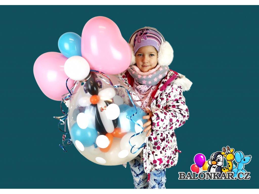 propíchni a posbírek narozeninové balónky párty balónky z balónků dárek dárky