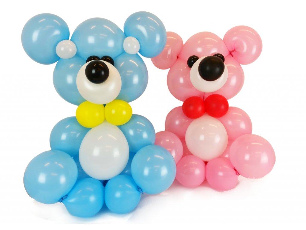 medvídek méďa dárek dárky pro děti z balónků balónkový méďa medvěd
