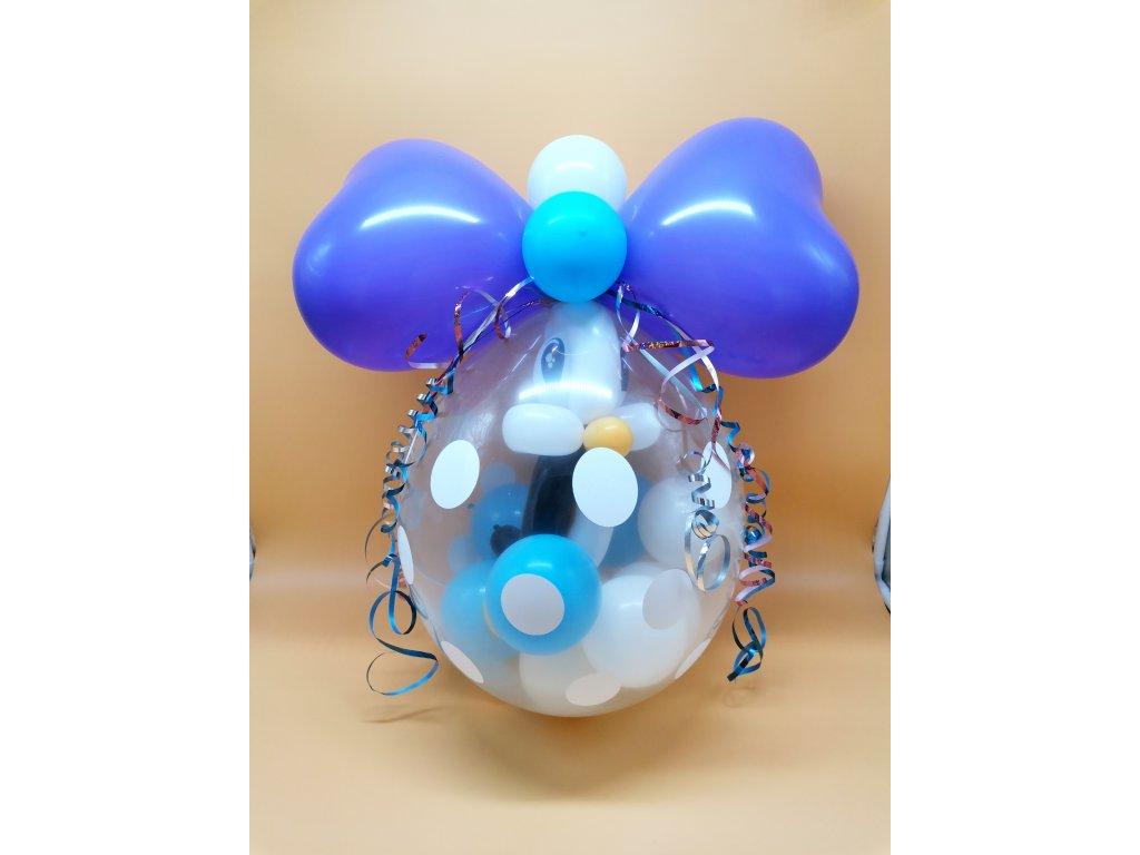 balónková číslice párty balónky narozeninové balónky dárek