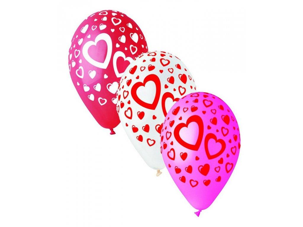 zlaté balónky s konfety narozeninové balonky svatební zamilované