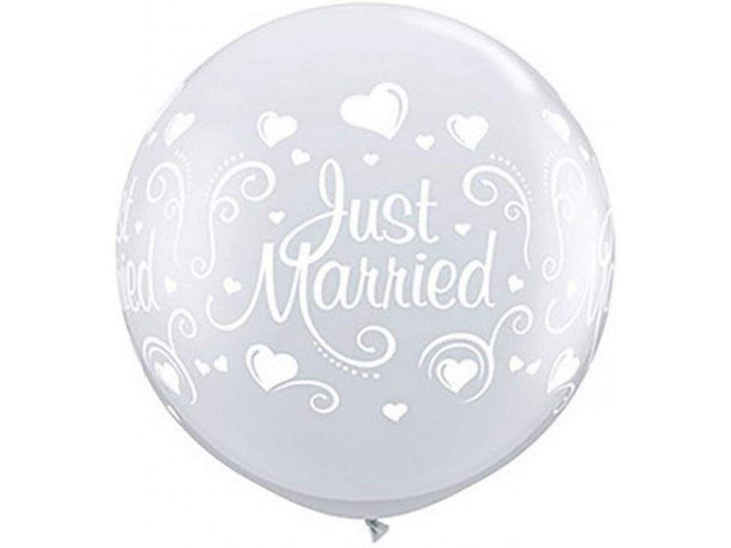 zlaté balónky s konfety narozeninové balonky svatební