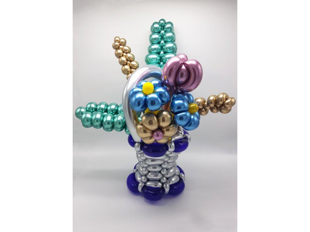 kytice květiny z lásky dárek brno balónky valentýn
