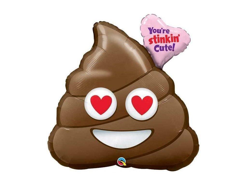 balonky narozeninové párty srdce valentýn dárky dárek hovínko hovno