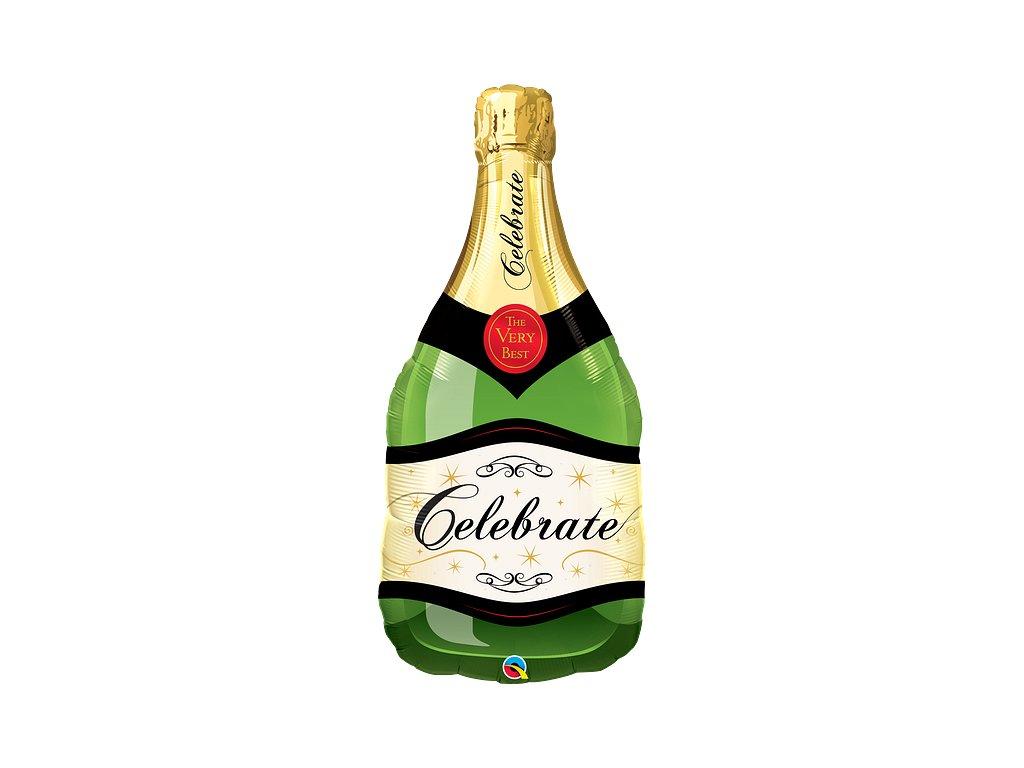 balonky narozeninové párty srdce valentýn dárek šampaňské láhev sektu svatevní svatba sklenice celebrate