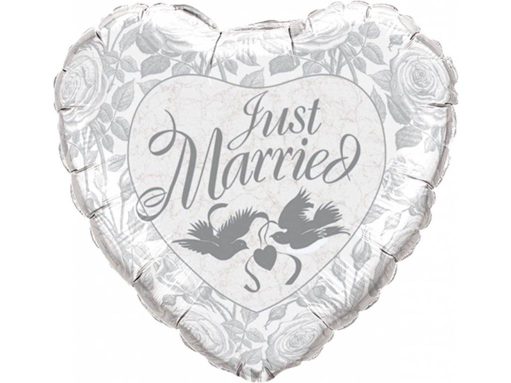 balonky narozeninové párty srdce valentýn dárky dárek i love you svatební novomanželé just married