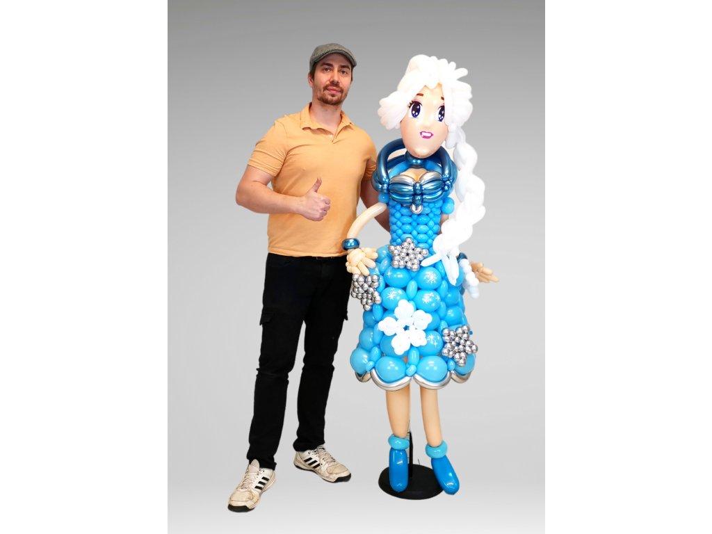 Balónek - Postava Elsa Ledové Království