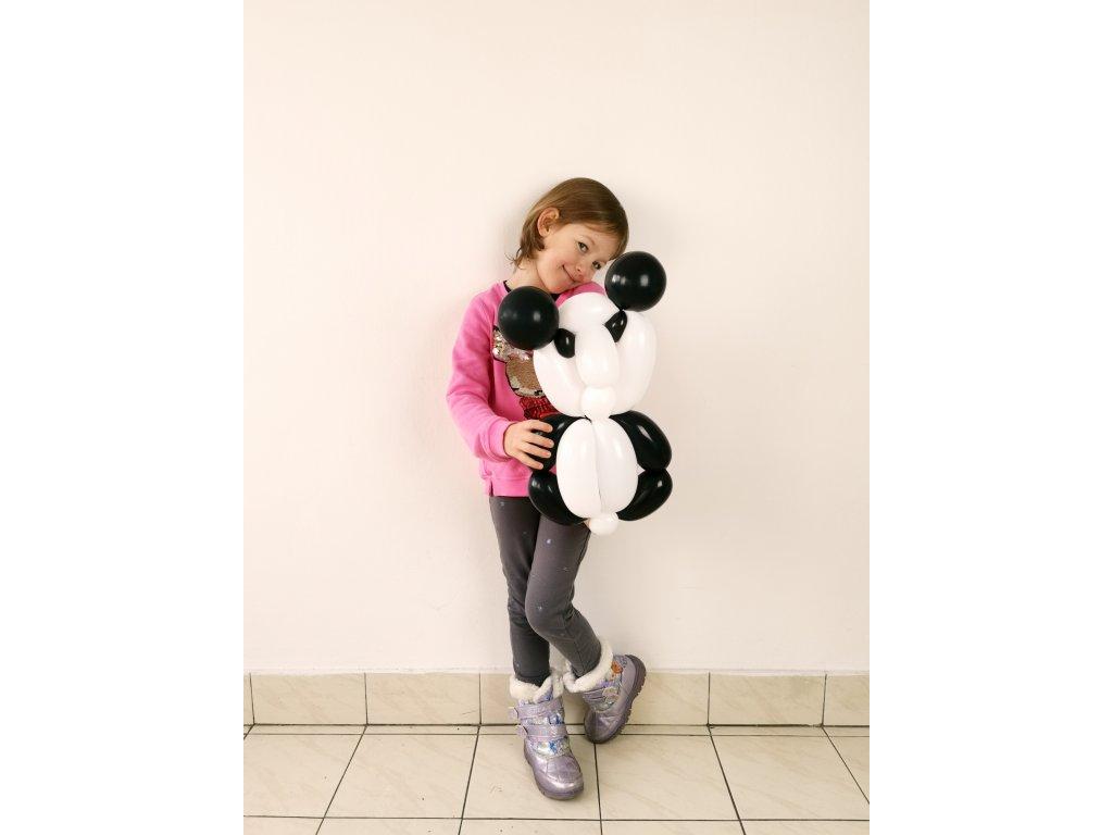 panda pandička pandu pro děti balonky balonků z narozeninové balonky párty dárek dárky tučňáček (3)