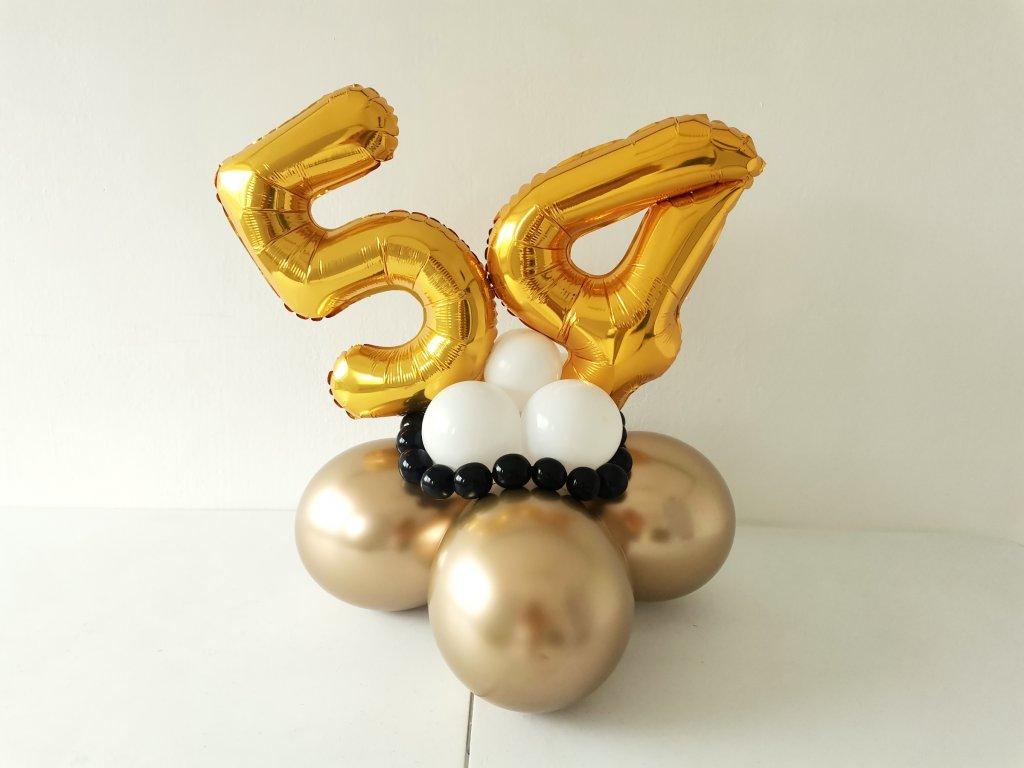 balonek číslo písmeno balonková čísla písmena narozeninové balonky párty