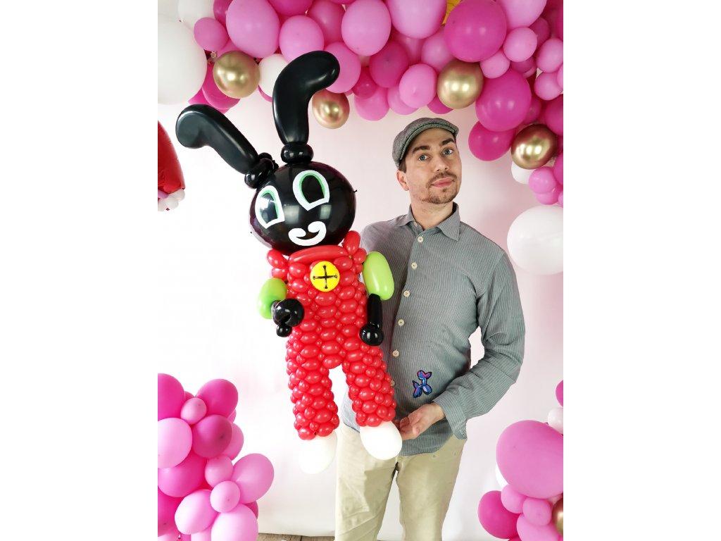 bing králík králíček černý zajíc zajíček z balónků balónky narozeninové párty dárek dárky pro děti s dětmi narozeniny plyšák plyšáci hračka hračky
