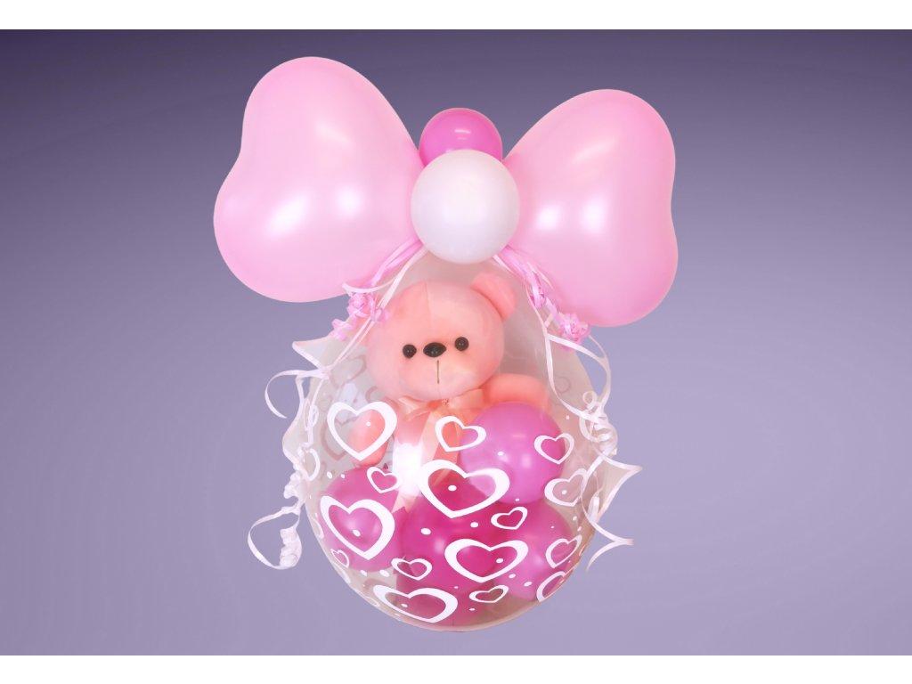 párty balónek narozeninové balónky pro deti dárek dárky plyšák medvídek (1)