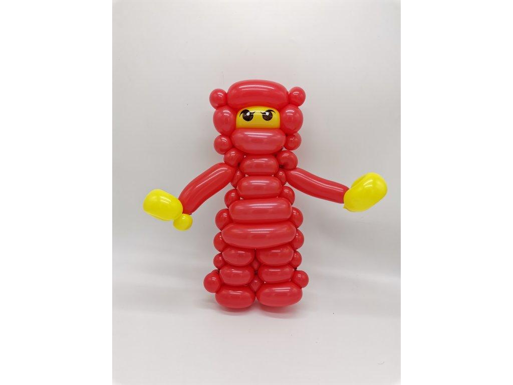 duha balonek balonky z balonků mráček duhová dárek pro děti párty s dětmi děti ninja go lego legacy kye (1)