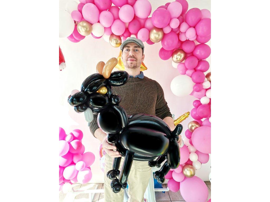 osel oslík kozel koza kozička kůzle kozel balonky z balonků balonek narozeninové párty narozeniny dárek dárky pro děti (2)