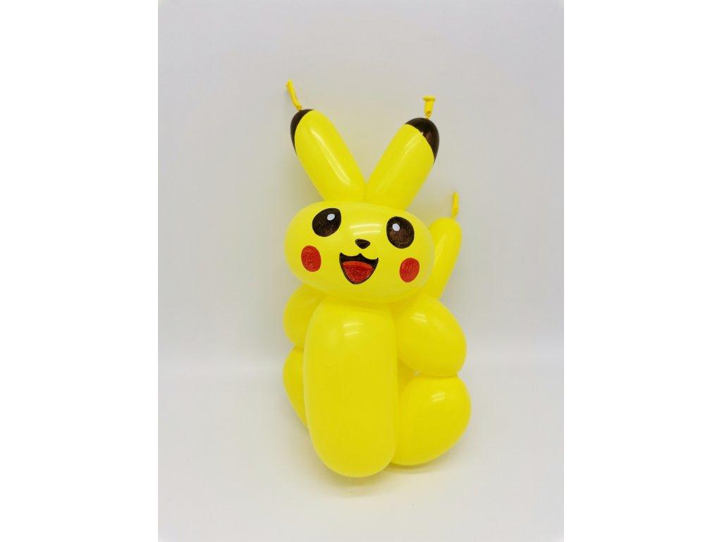 pikachu pokemon pokemoni pika pokemon z balónků balónky narozeninové párty dárek dárky pro děti s dětmi narozeniny plyšák plyšáci hračka hračky