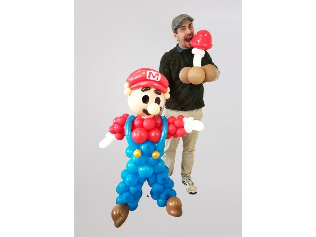 mario super balonky z balonku narozeninove party pro děti hračky dárek dárky pamětníky (3)