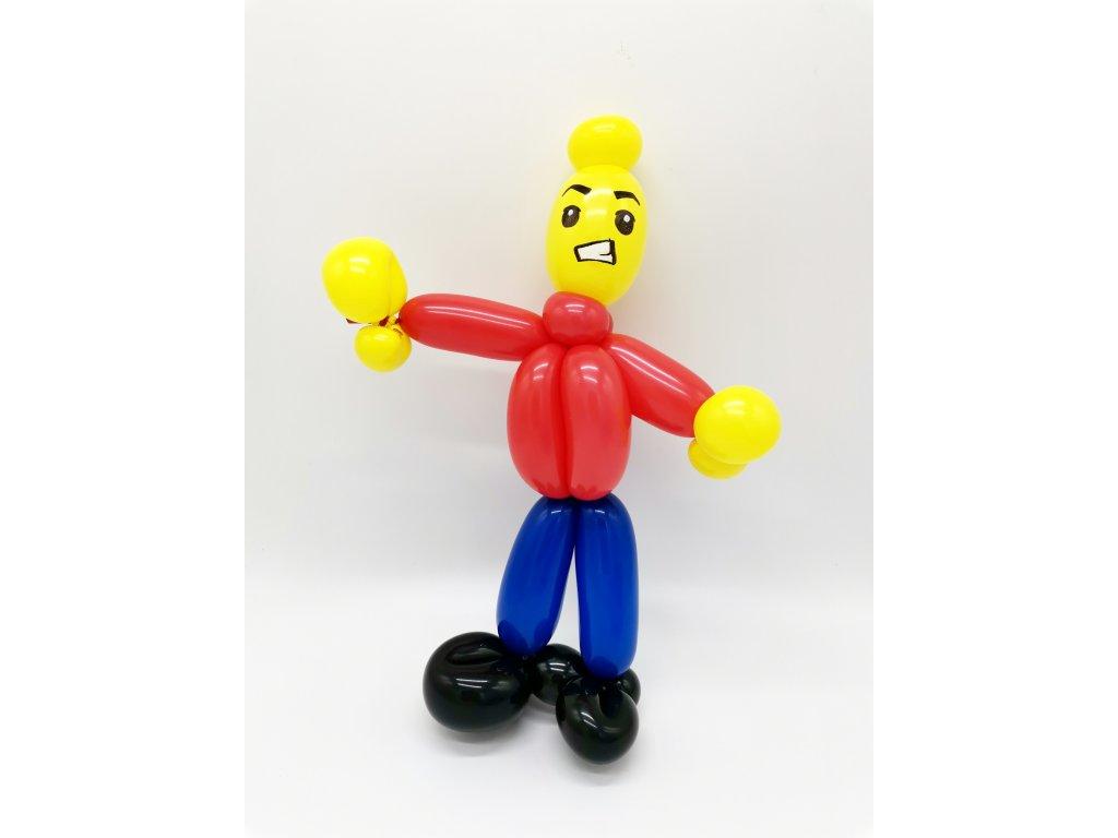 balónky narozeninové párty lego city pro děti s dětmi výzdoba dekorace (1)