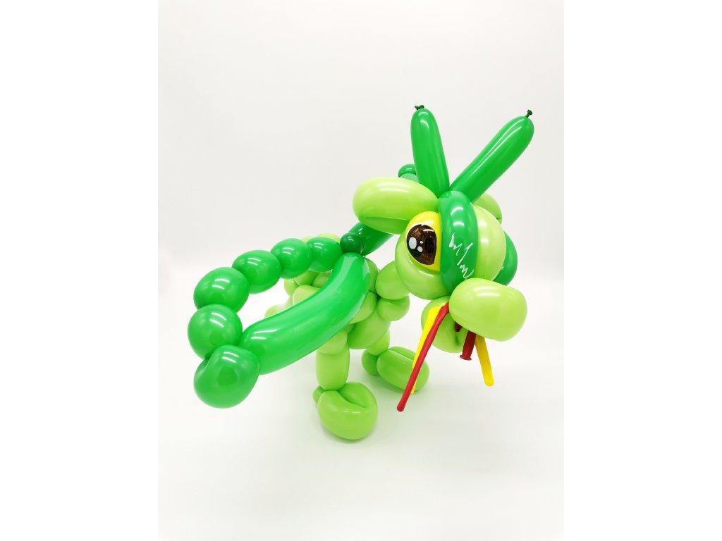 drak dráček dragon balloon balonky balonků narozeninové párty děti s dětmi dinosaurus (1)