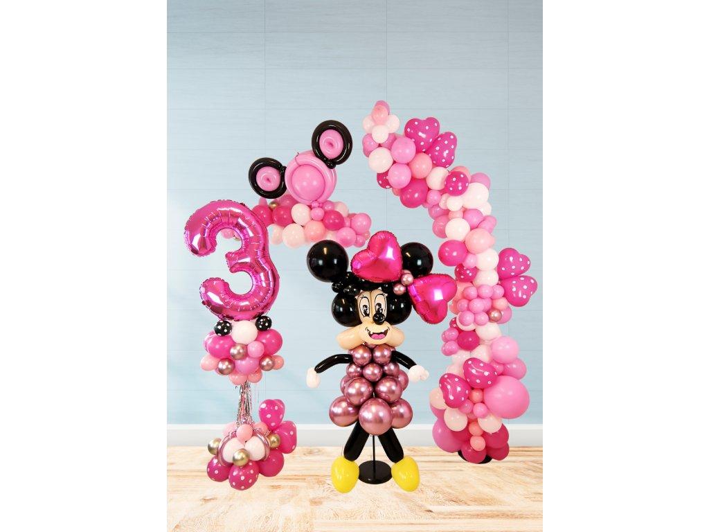 minnie myška mickey mouse narozeniny narozeninové párty oslava pro děti výzdoba dekorace (2)