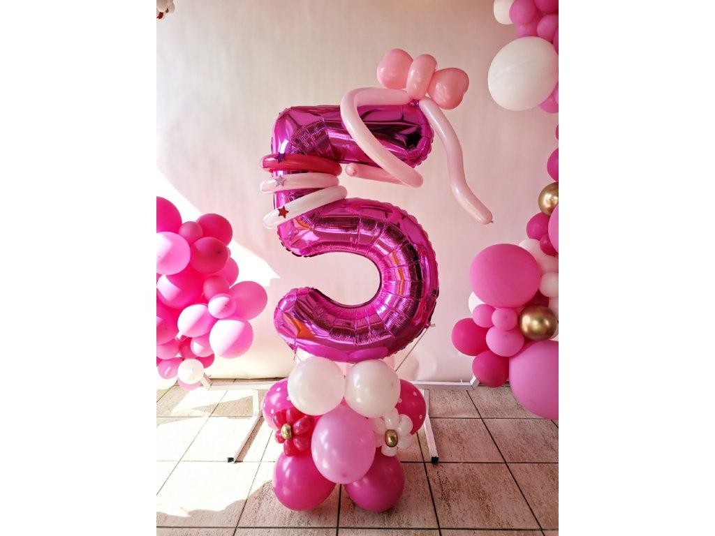 Cocomelon narozeninové balonky párty děti pro dárky dárek balonek z balonků pohádka výzdoba dekorace