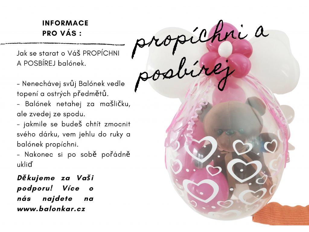 narozeninové balónky párty balónky dárek dárk z balónků (3)