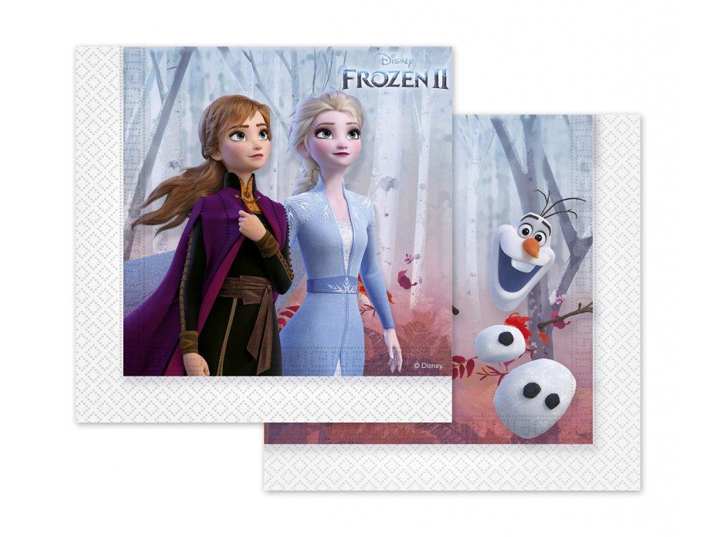 frozen ledové království ubrousky kelímky napkins talířky oslava narozeninové