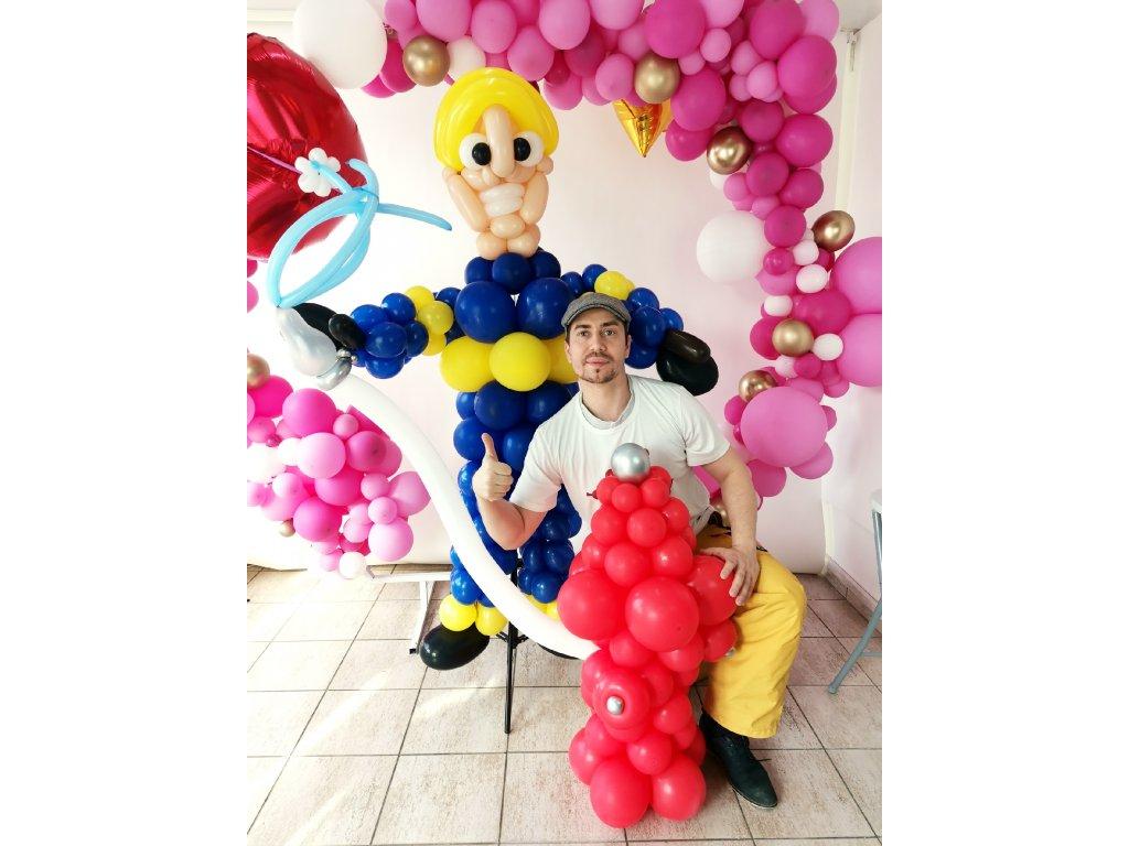 hasič hasiče fireman eleven balonek balonků balonky párty narozeninové výzdoba dekorace párty brno praha (6)