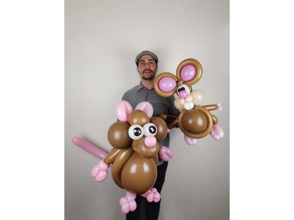 Balonek - Myšák dvě tváře