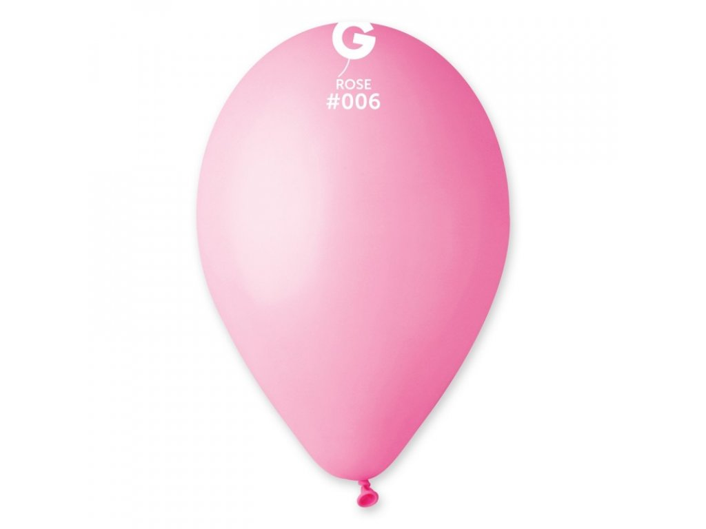balonek kulaty ruzovy