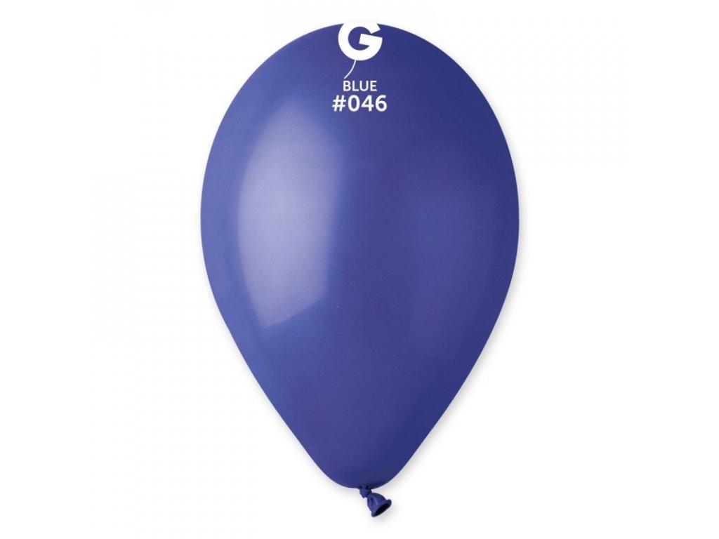 balonek kulaty tmave modry