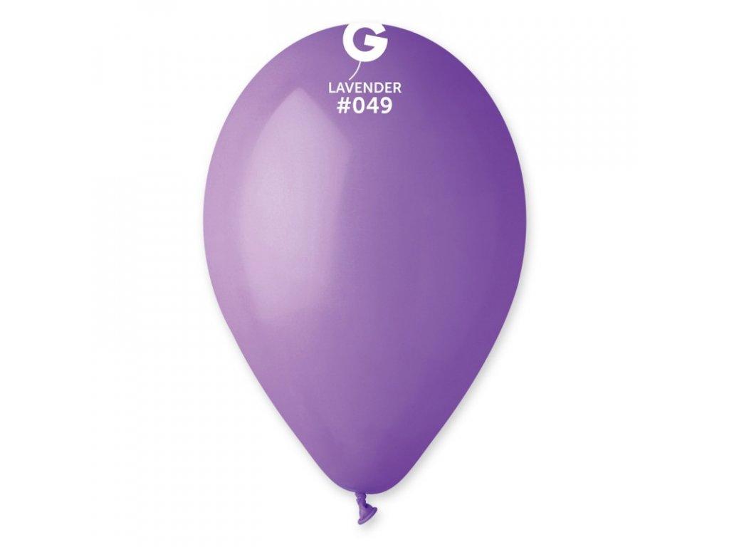 levandulový balónek