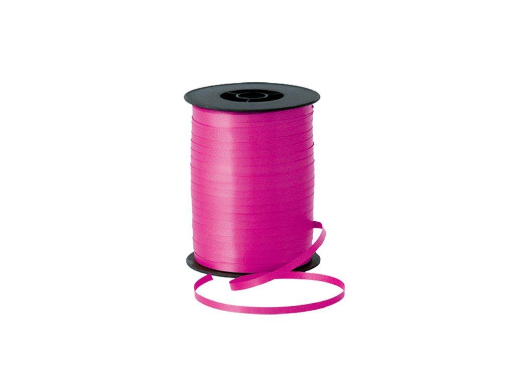 tmavě růžová stuha na dárky na balónky