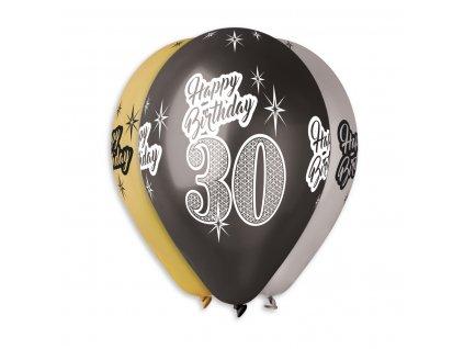 balonky s cisly 30