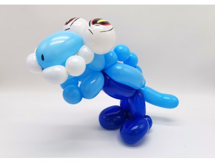 dinosaurus trex t rex pro děti hračka z balónků balónky dárek dárky (6)