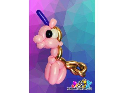 Balonek - Jednorožec velký růžový