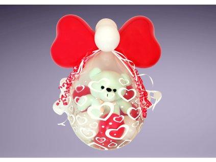 párty balónek narozeninové balónky pro deti dárek dárky plyšák medvídek medvěd