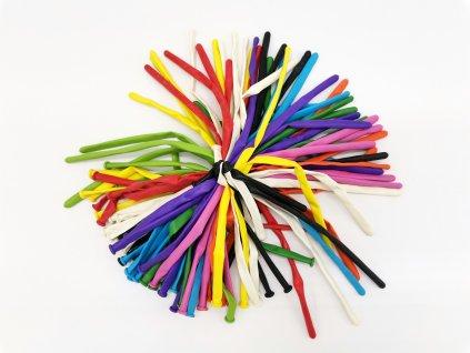 balonky sada pumpička nafukování balonek latexové pro děti pastelové (2)