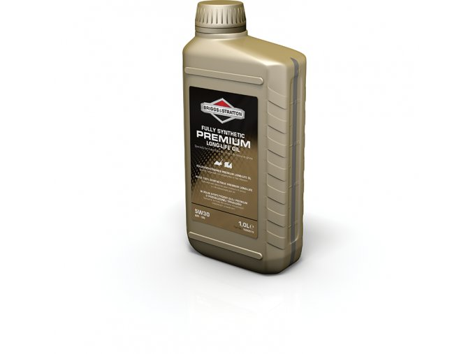 100007S 1 Litre Premium Synthetic Oil Bottle v4